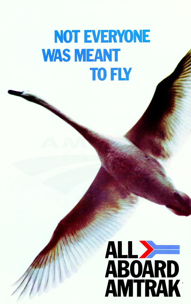 """Not Everyone Was Meant To Fly"" poster, 1980s."