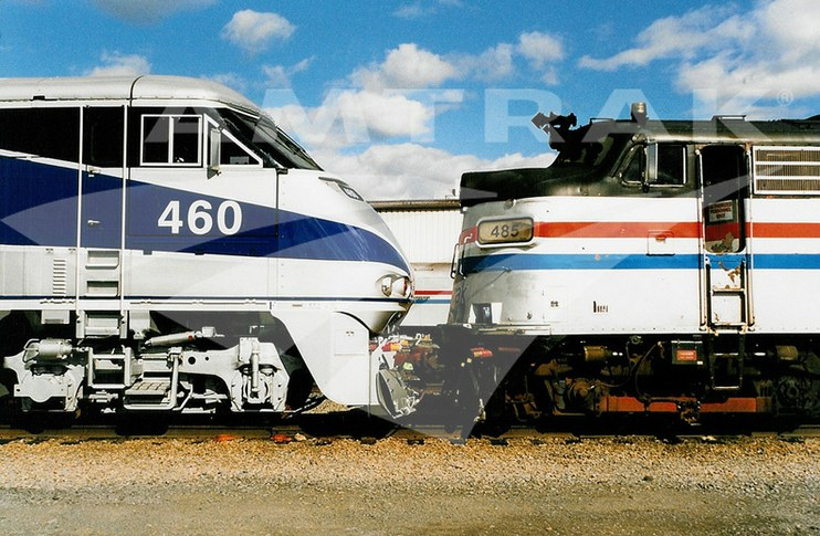 Old and New Locomotives.