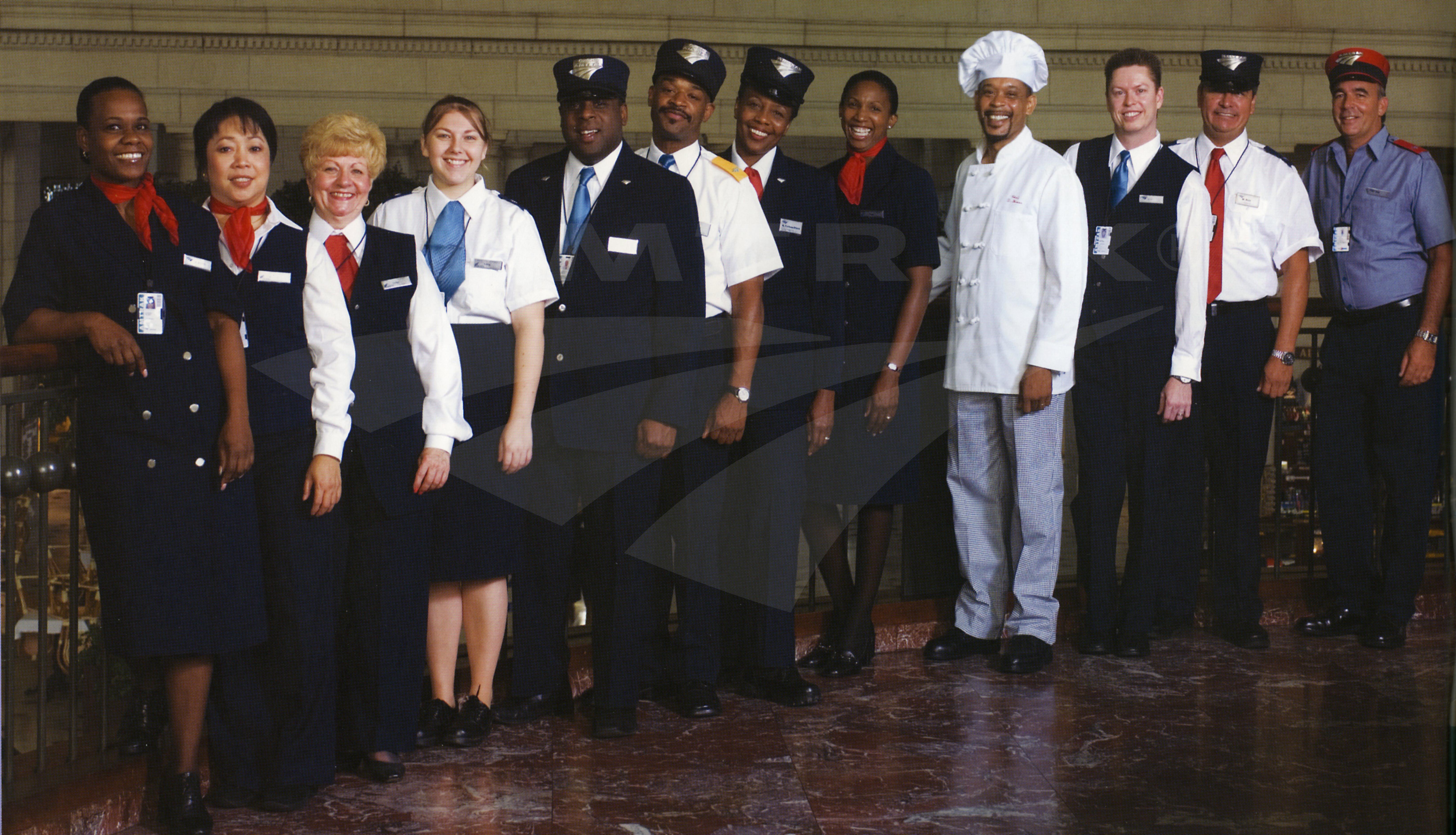 Uniform Employee 55