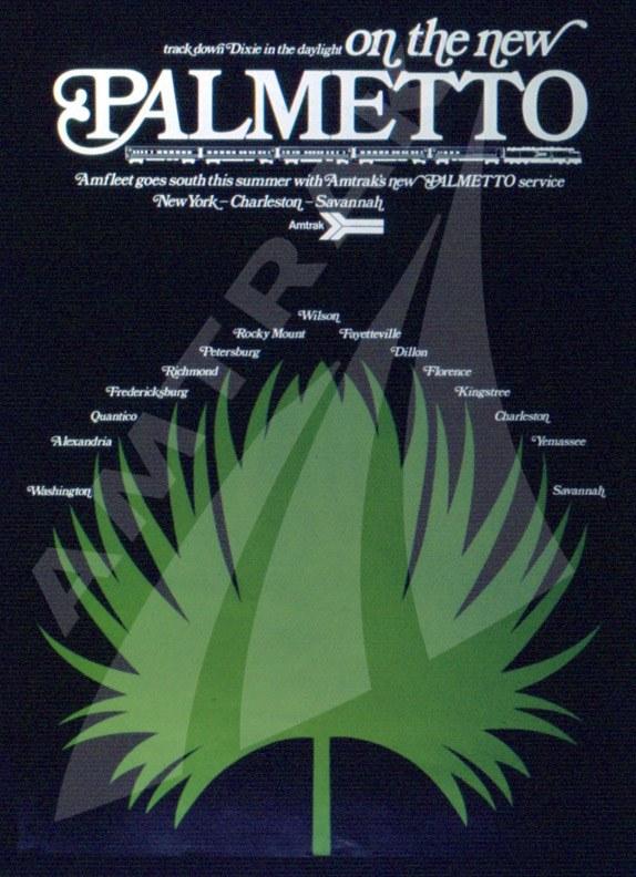 <i>Palmetto</i> Route Ad.