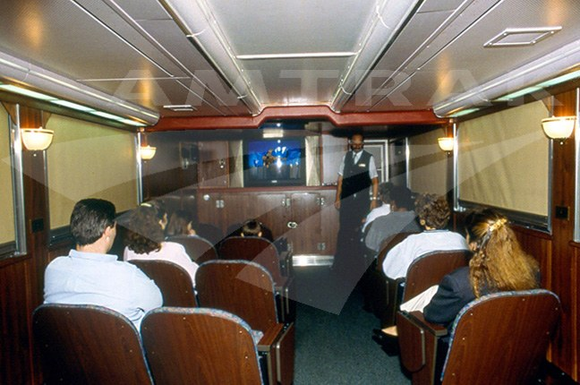 Pacific Parlour Car Interior — Amtrak History of America
