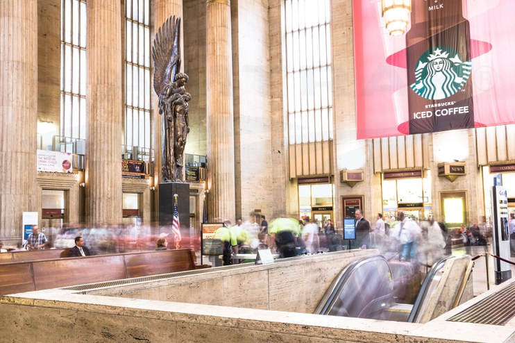 Philadelphia 30th Street Station, 2013.