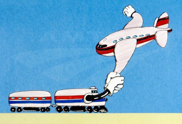 Plane and Train.