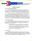 Press release providing a background on Amtrak, 1971.