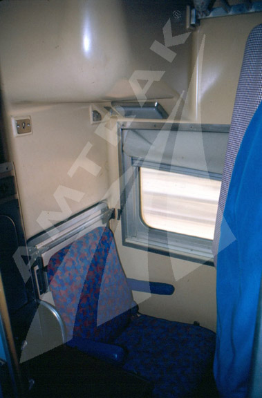 New Pioneer Travel >> Slumbercoach interior. — Amtrak: History of America's Railroad