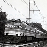 Southbound <i>Silver Star</i> with Heritage equipment, early 1980s.