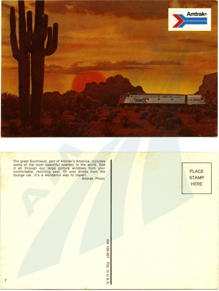 Southwest postcard, early 1970s.