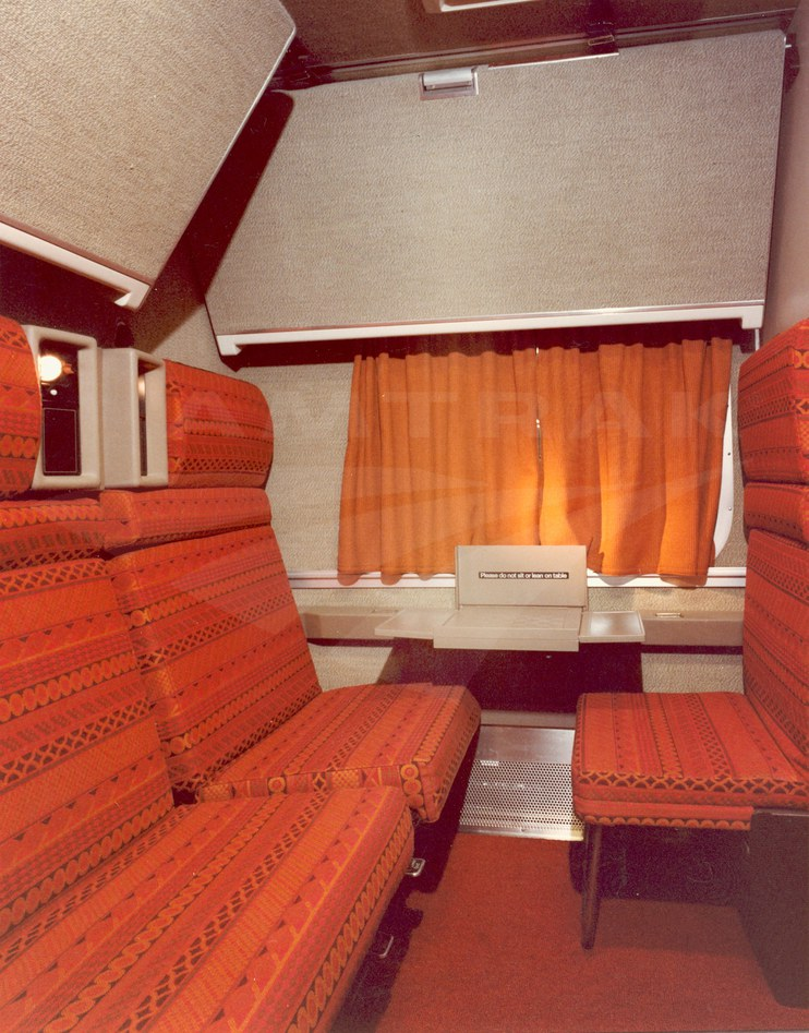 Superliner I Family Bedroom Amtrak History Of America S