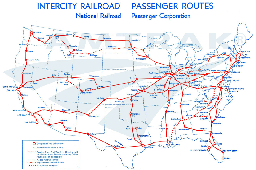 Up To Weeks Of Travel For One Flat Rate With Amtrak Rail Pass - Amtrak map of routes in us