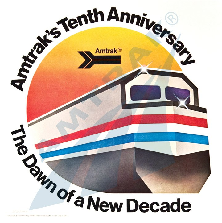 Tenth anniversary lithograph, 1981.