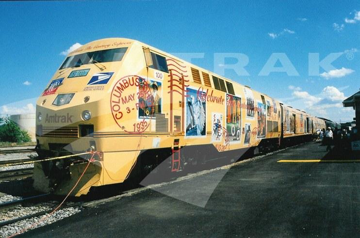 Celebrate the <i>Century Express</i>.
