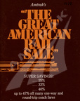 """The Great American Rail Sale"" booklet, 1978."