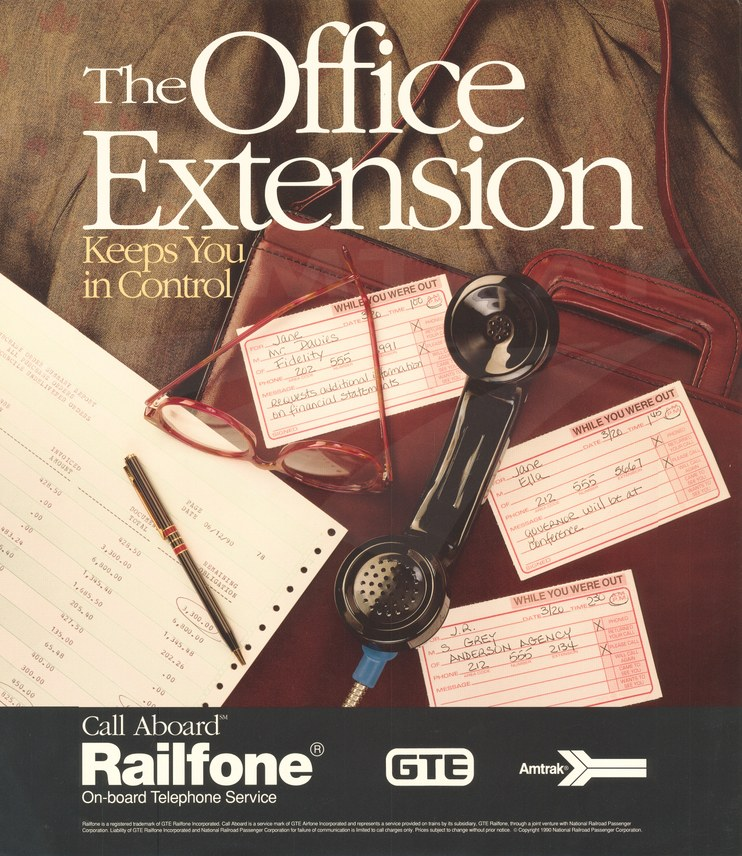 """The Office Extension"" poster, 1990."