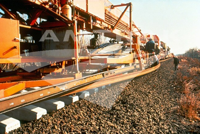 Track Laying Machine.