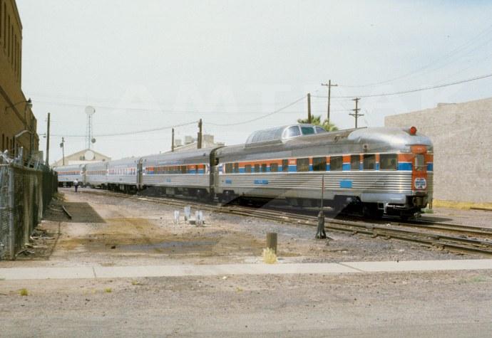 Transcontinental Steam Excursion train, 1977.