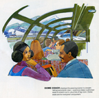 """Traveling by train"" booklet, 1970s."