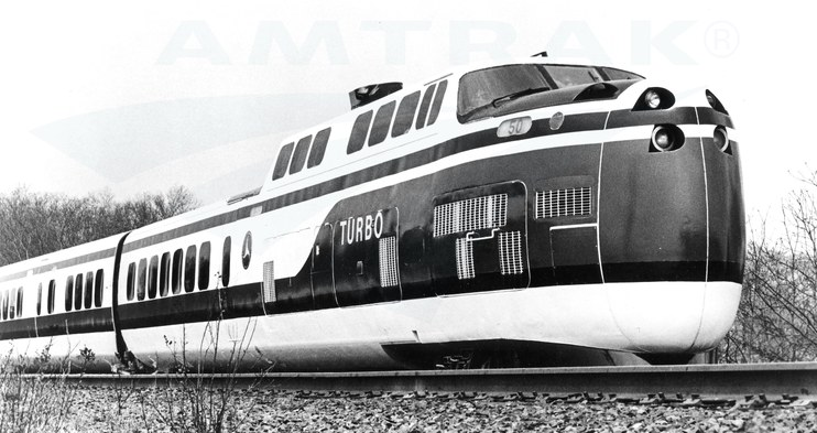 TurboTrain on nationwide tour, 1971.