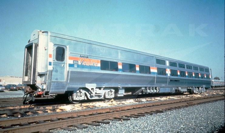 Prototype Viewliner Sleeping car, 1988.