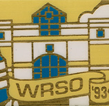 Western Reservation Sales Office pin, 1993.