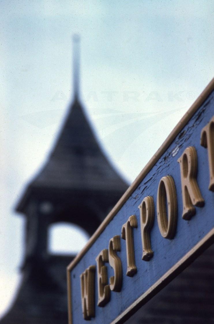 Westport, N.Y., depot, c.1980s.