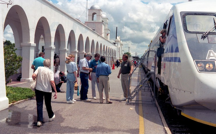 X2000 on display at Orlando, 1993.