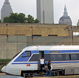 X2000 in Cleveland, 1993.