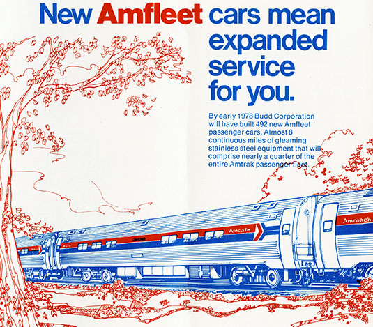 Amfleet Brochure cover