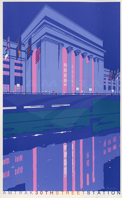 30th Street Station postcard.