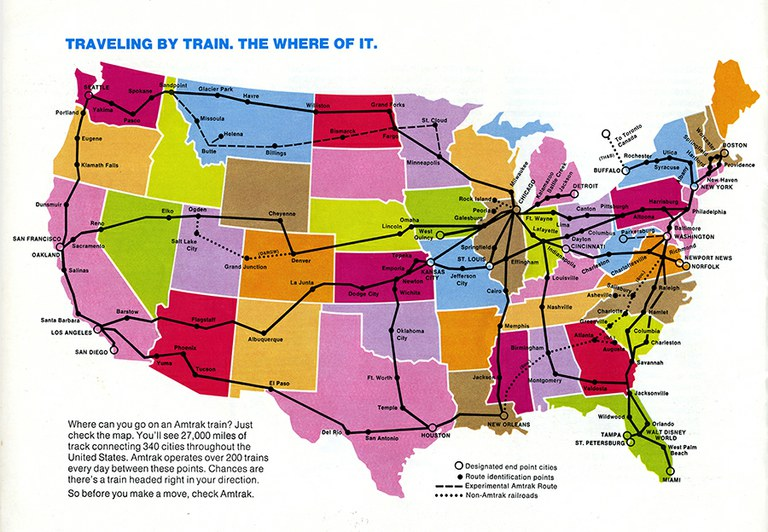 A Closer Look  Traveling By Train  U2014 Amtrak  History Of America U2019s Railroad