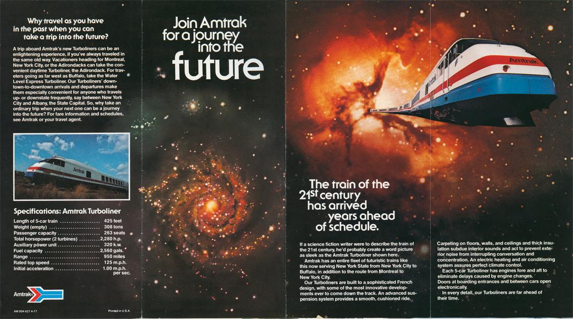 Turboliner brochure exterior