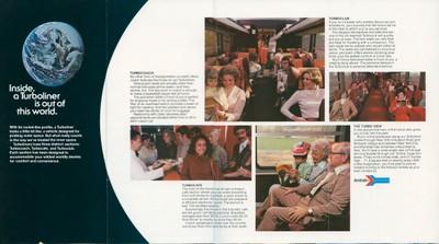 Turboliner brochure, 1977, interior