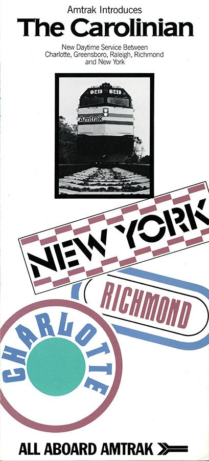 Carolinian brochure, 1984.