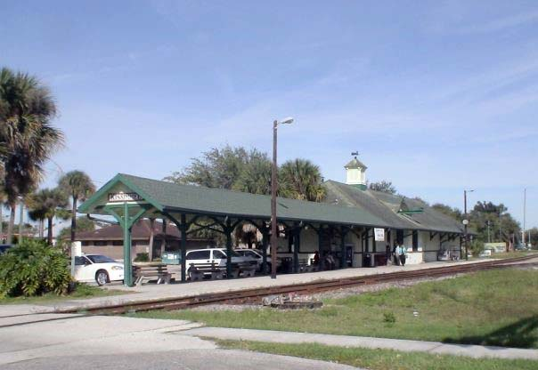 Trackside view of Kissimmee, Fla., depot, 2007.