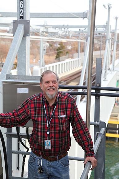 Niantic River Bridge Tender Merrill Perkins, 2015