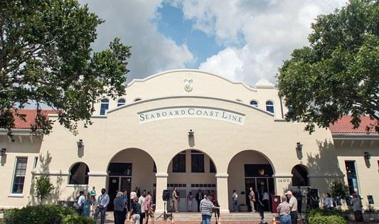 Orlando station rededication, June 2015