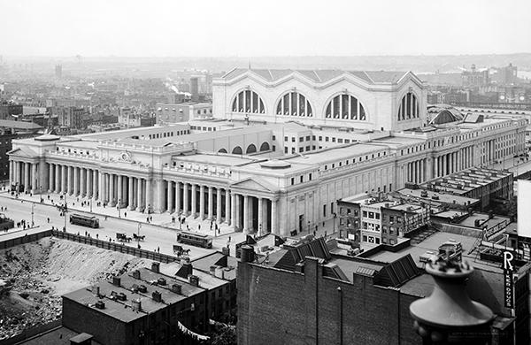 New York Penn Station, 1910.
