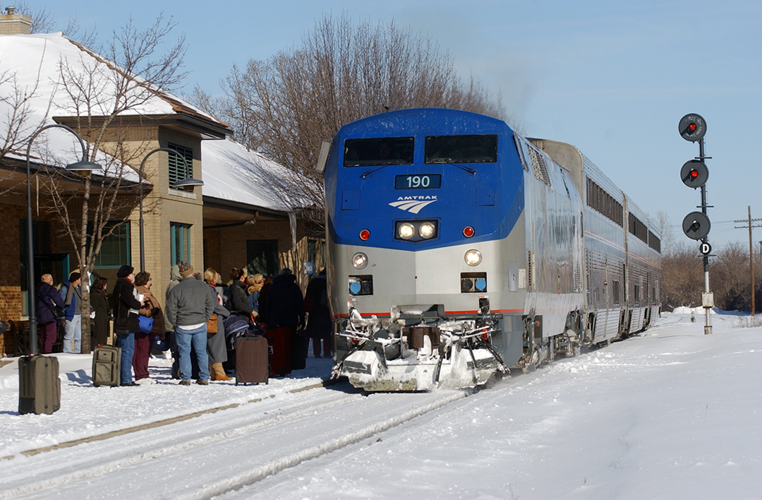 Pere Marquette makes a stop in Holland, Mich.