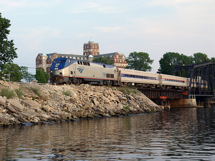 Pere Marquette crosses the St. Joseph River
