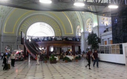 Main Hall of Washington Union Station, August 2015