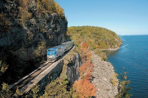 Adirondack along Lake Champlain, 2000s.