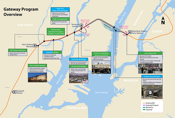 Gateway Program informational map