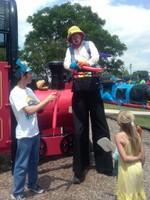 Train themed fun
