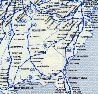 Crescent Map 1978