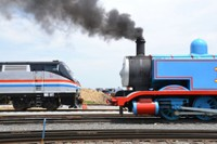 Locomotive 822 and Thomas