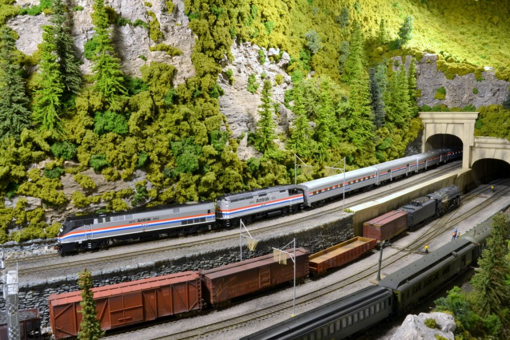Model railroading is great fun, allowing eras to merge and imagination to flow.