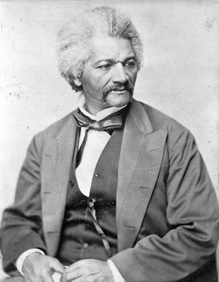 Frederick Douglass, c1850-1860; courtesy of the Library of Congress