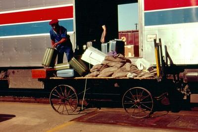 1970s Baggage Wagon
