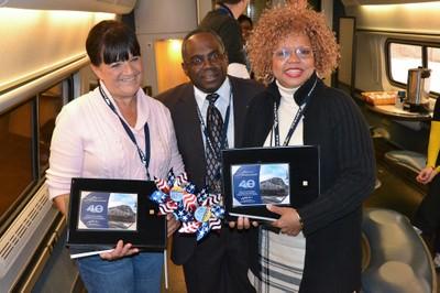 40-year Amtrak employees recognized
