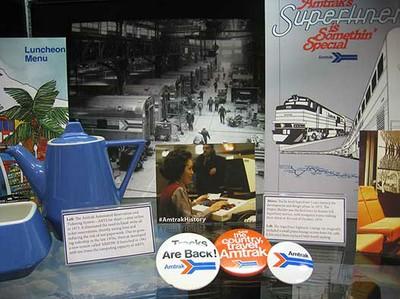 Amtrak History at Museum of Transportation