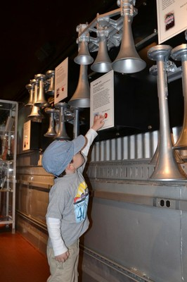 Air horns were fascinating